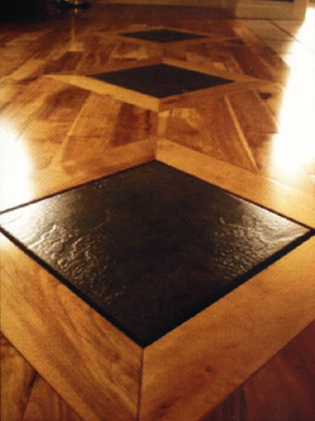 Project gallery for Inlaid wood floor designs